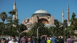 Hagia Sophia Museum can be converted into a mosque