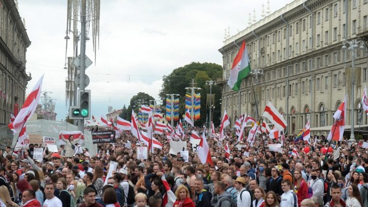 Protest in Minsk