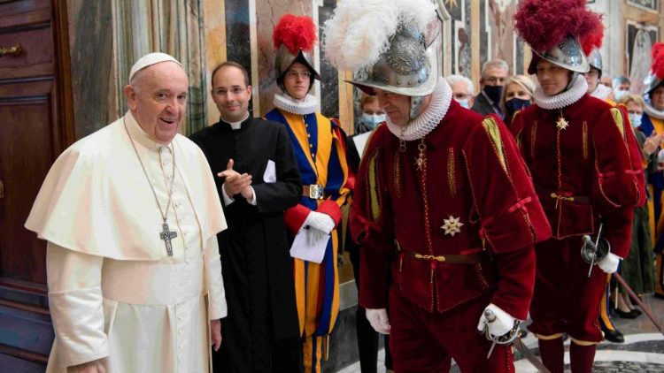 Ceremony for the new Recruits of the Pontifical Swiss Guard in the Vatican