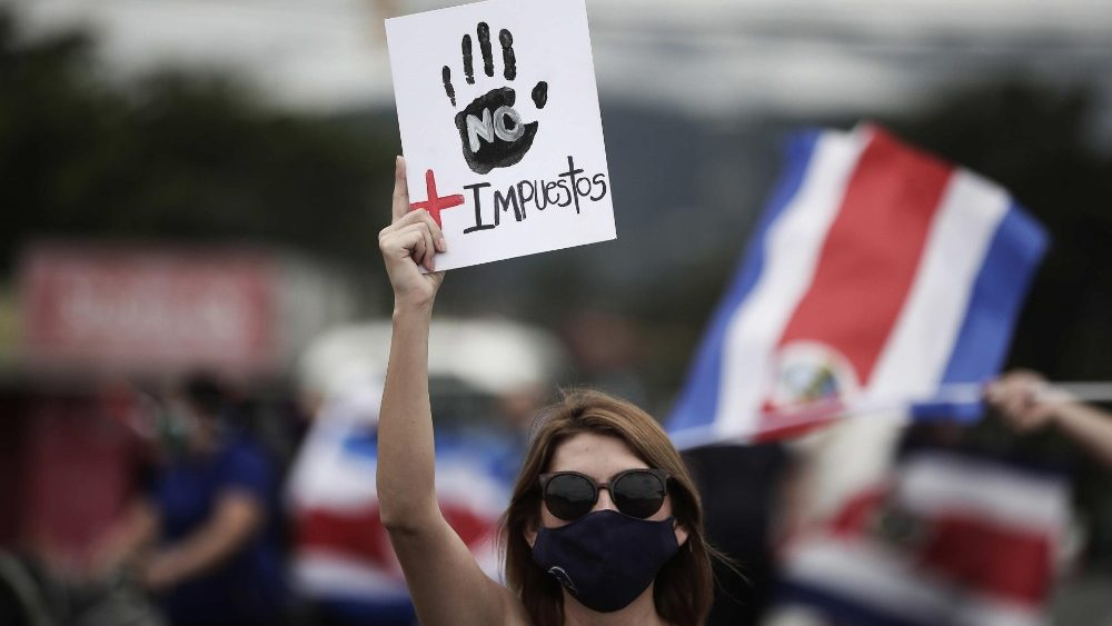 COSTA RICA PROTESTS