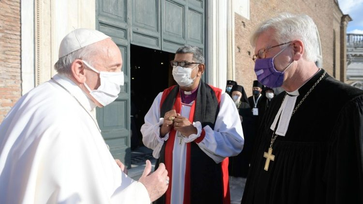 Ecumenical prayer for Peace Meeting in Rome