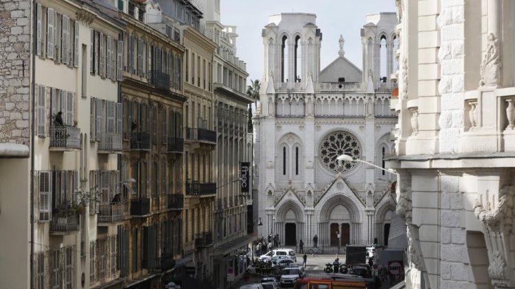 Ataque terrorista en la Iglesia de Notre Dame de Niza