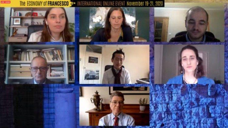 Economia de Francisco: jovens do mundo inteiro coligados com a cidade de Assis - Vatican News