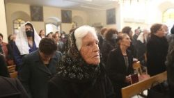 Syrian Christians attend Mass in Damascus, Syria