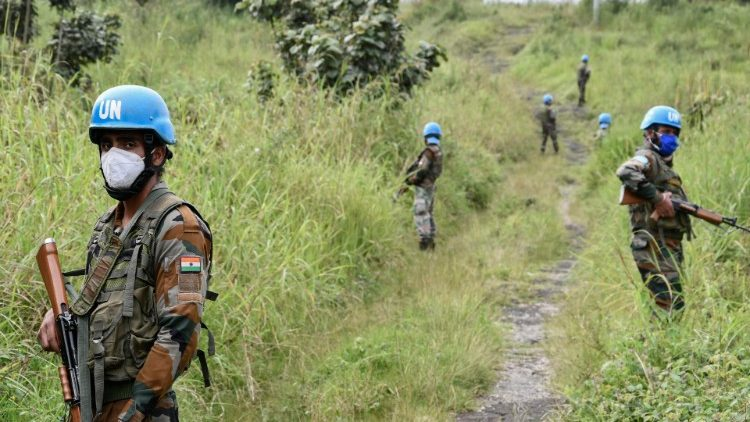 DRC: United Nations Peacekeepers in the troubled Virunga National Park