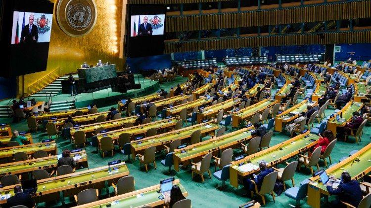 76esima sessione dell'Assemblea Generale delle Nazioni Unite