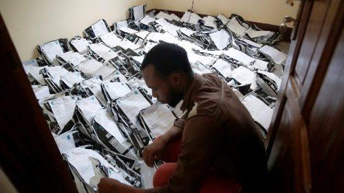 Classement et vérification des votes à Kinshasa