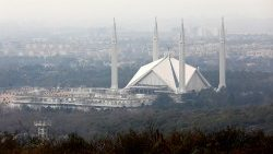Die Faisal-Moschee in Islamabad