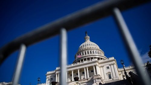 The U.S. Capitol is pictured on day 30 of a partial government shutdown, in Washington