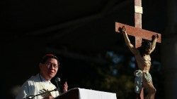 Archbishop of Manila Luis Antonio Cardinal Tagle (file photo)
