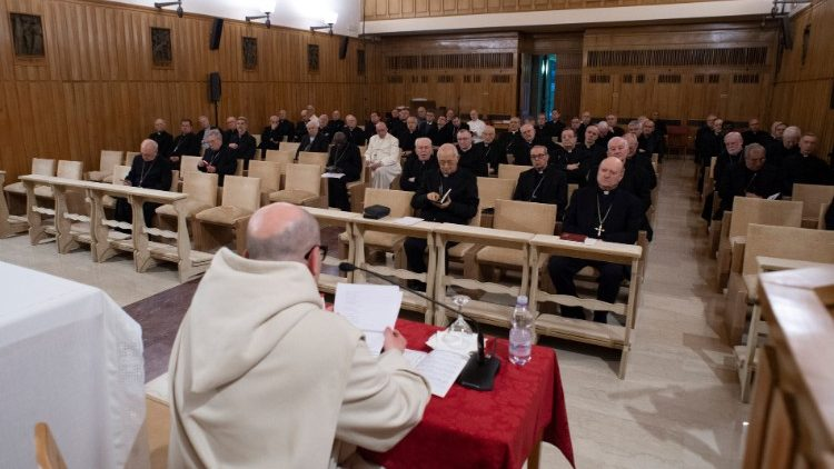 Lenten retreat in St. Paul Center Ariccia