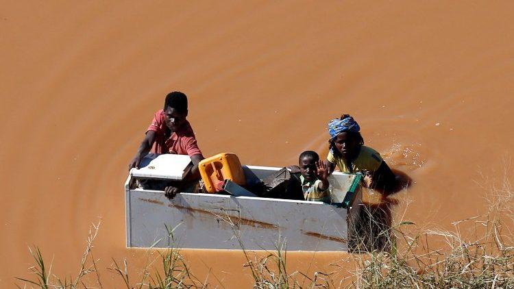 Mozambik najbardziej dotknięty skutkami tropikalnego cyklonu