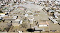 Pésame del Papa por las víctimas de las inundaciones en Irán