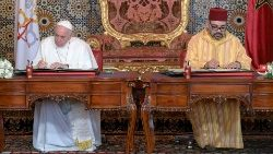 Pope Francis and King Mohammed VI make appeal for Jerusalem