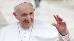 Pope Francis holds weekly audience at the Vatican