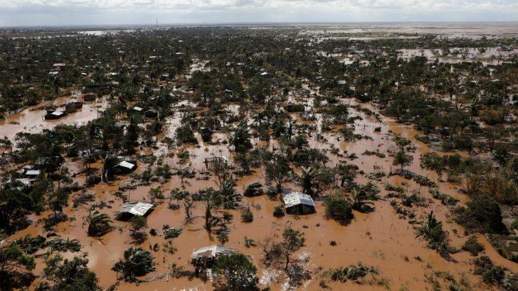 Mozambique ngập sau bão lốc xoáy Idai