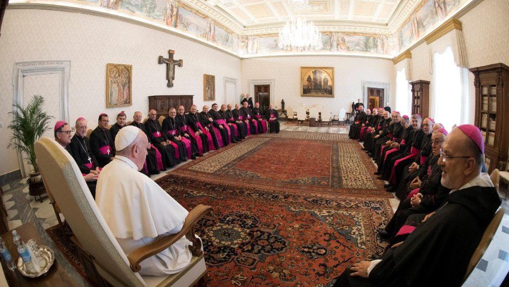 Visita ad limina de los obispos argentinos