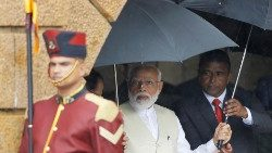 Narendra Modi in Colombo