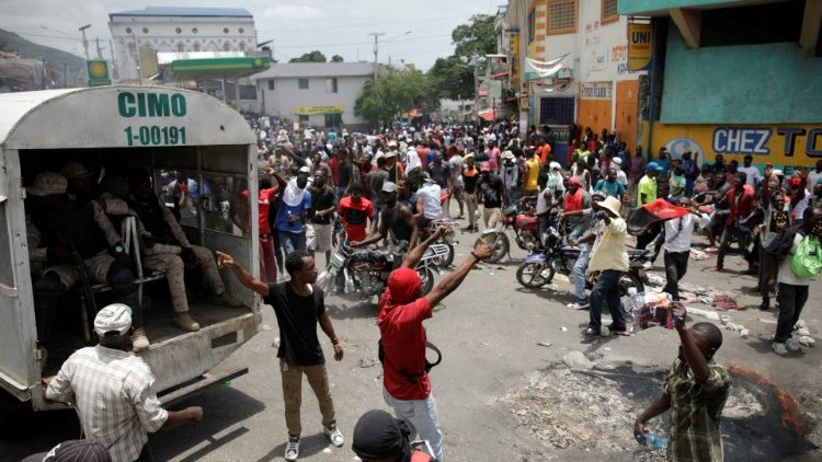 HAITI-POLITICS/PROTESTS