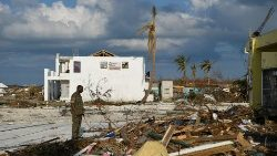 Destruction caused by Hurricane Dorian in the Bahamas.