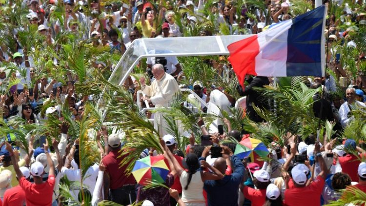 Pope Francis visits Mauritius