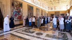 talitha kum, first General Assembly - Pope Francis met them in private audience