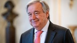 UN Secretary General Antonio Guterres.