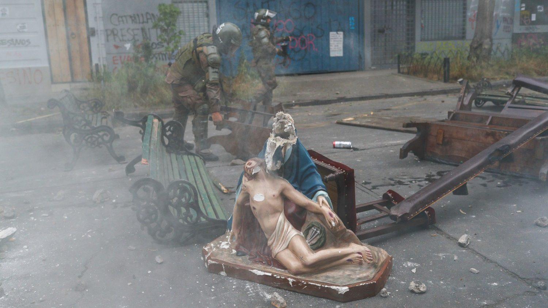 Chile: profanado el Templo de San Francisco de Valdivia - Vatican News