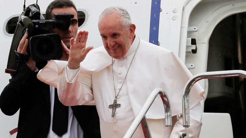 Francisco ya está en Roma