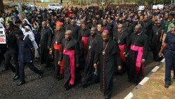 Catholics march against violence in Abuja