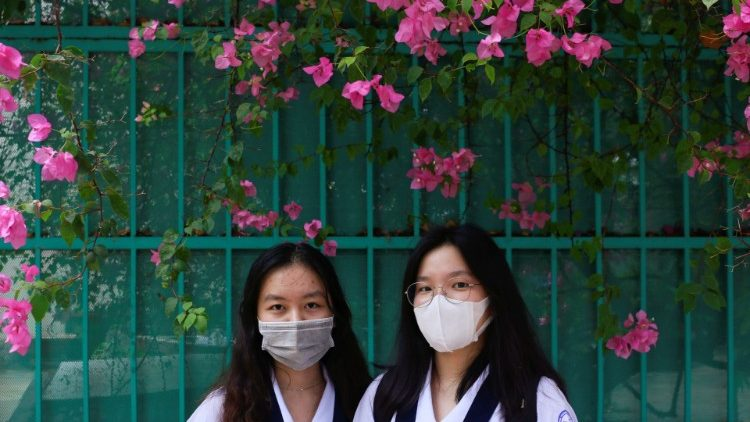The nationwide lockdown after the spread of the coronavirus disease (COVID-19) in Hanoi