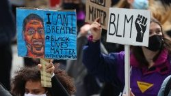 Protests against the killing of George Floyd are taking place across the globe