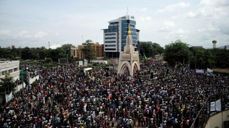 Mali: una delle ultime manifestazioni antigovernative