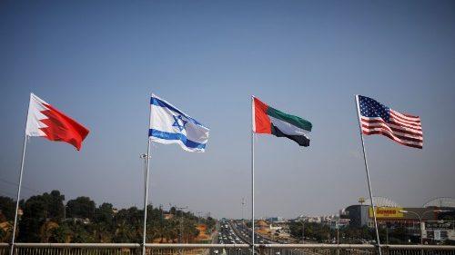 """Firmato l' """"Accordo di Abramo"""" tra Israele, Emirati e Bahrein"""