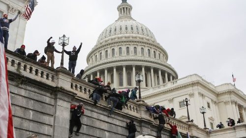 Pro-democracy voices across the board decry violence at US Capitol
