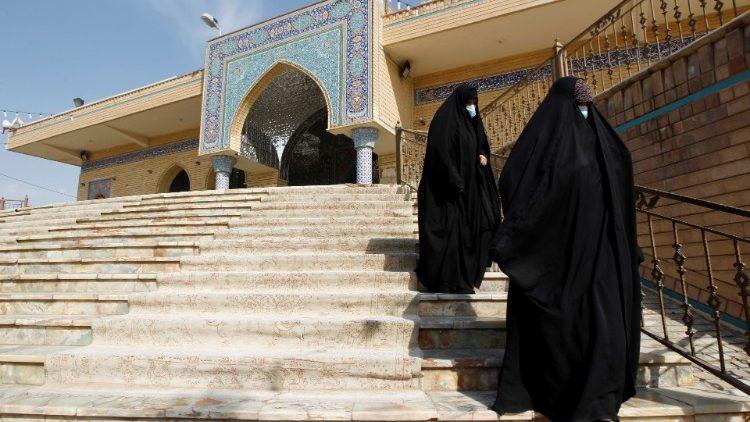 Các phụ nữ Iraq tại thành phố Najaf