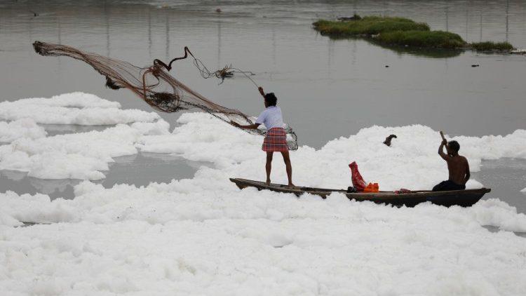 Sông Yamuna ở Ấn Độ