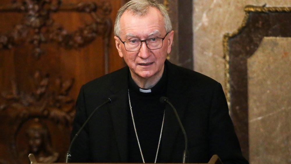 Il cardinale Pietro Parolin, segretario di Stato vaticano