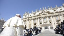 Pope Francis arrives in St. Peter's Square