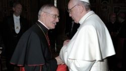 Pope's condolence at the death of Cardinal Tauran
