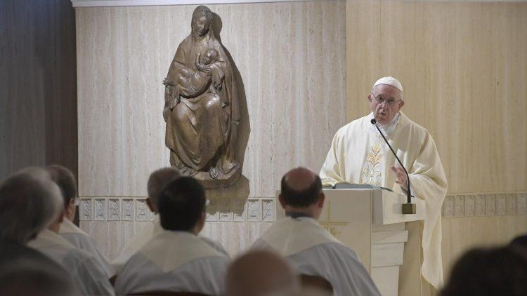 2018.09.13 Messa Santa Marta