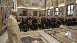 Pope meets with Italian Association for Injured Workers (ANMIL)
