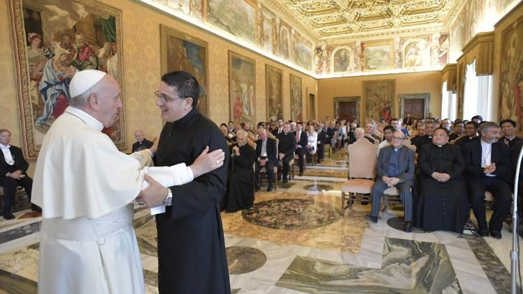 Pope addresses the Congregation of the Sons of Holy Mary Immaculate