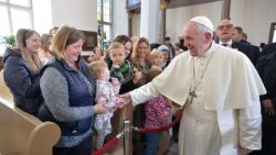 Pope meeting with Beneficiaries of the Church's Charitable Works, Tallinn, Estonia