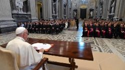 Pope Francis speaks at the Lateran Basilica on pastoral care for families