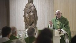 The homily of Pope Francis during the Mass at Casa Santa Marta