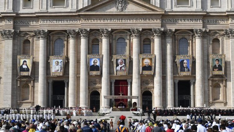 Canonization in St. Peter's Square