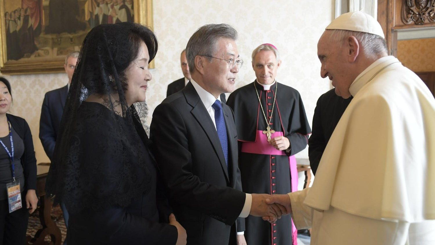 Pope receives President of the Republic of Korea - Vatican News