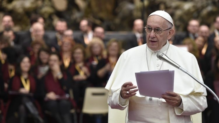 Pope Francis speaks to 3rd International Meeting of Choirs