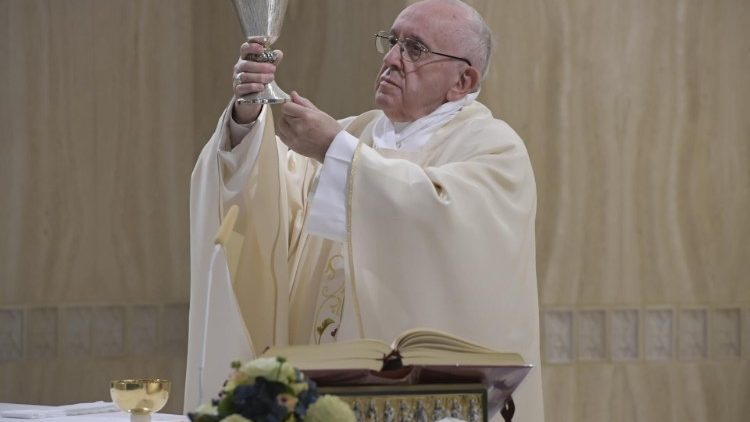 Thánh lễ tại nhà nguyện thánh Marta